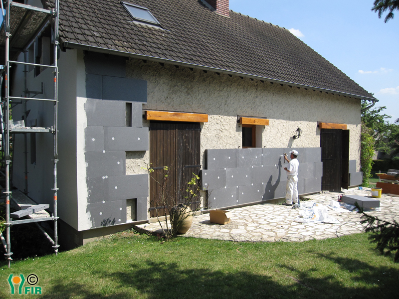 Isolation exterieur en beton cellulaire devis isolation for Isolation mur exterieur